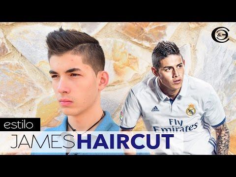 James Rodriguez Corte de Cabello Paso a paso ★ James Haircut | Corte Cresta para Hombres