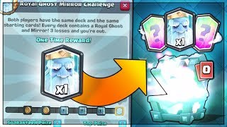 NEW 12 WIN ROYAL GHOST CHALLENGE! LEGENDARY CHEST REWARD! | Clash Royale | LEGENDARY ROYAL GHOST!