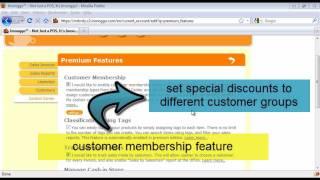 Imonggo Web POS Software - Implementing Customer Relationship / Membership Program