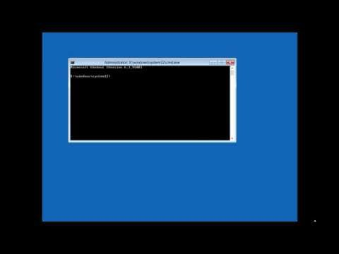 Repair Windows 8 Master Boot Record (MBR) Without A Windows CD