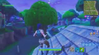 Fortnite Bug (Open chest through wall , stuck on roof and more)-Fortnite Battle Royale