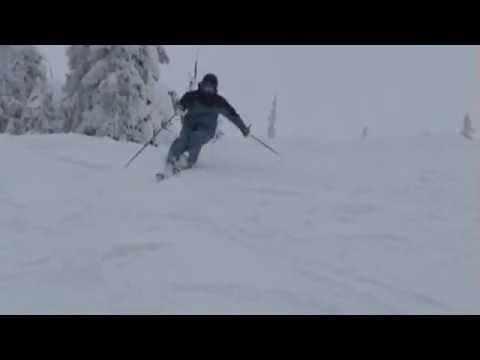 Training for the level 4 CSIA  (Moguls) at Big White Ski Resort 2013