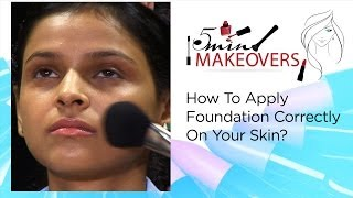 How To Apply Foundation Correctly On Your Skin? || The Cloakroom Thumbnail