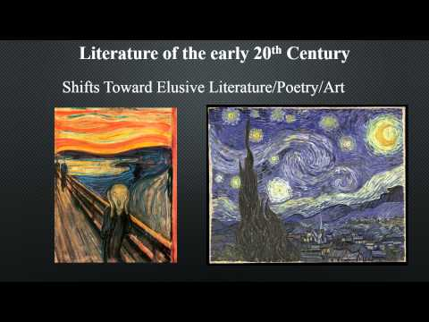 Trends and Influences on American Literature in the Early 20th Century