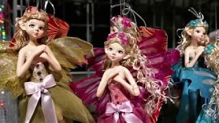 Новогодний декор. Елочные украшения и коллекции новогодних игрушек в 'Азбуке вкуса'.