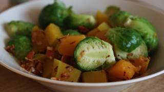 Recipe: Lemon-kissed Brussels And Butternut Squash From The Blissful Chef