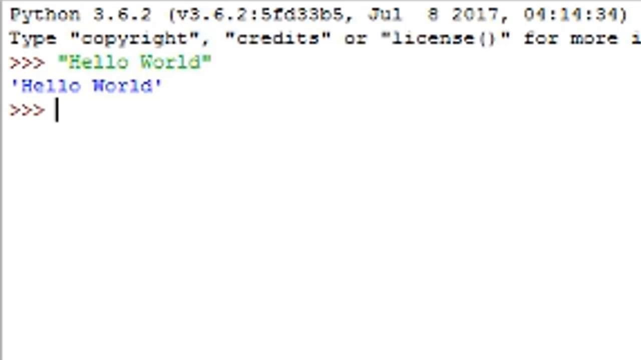 python 3.6.2