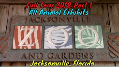 Jacksonville Zoo and Gardens Full Tour Part 1 - Jacksonville, Florida
