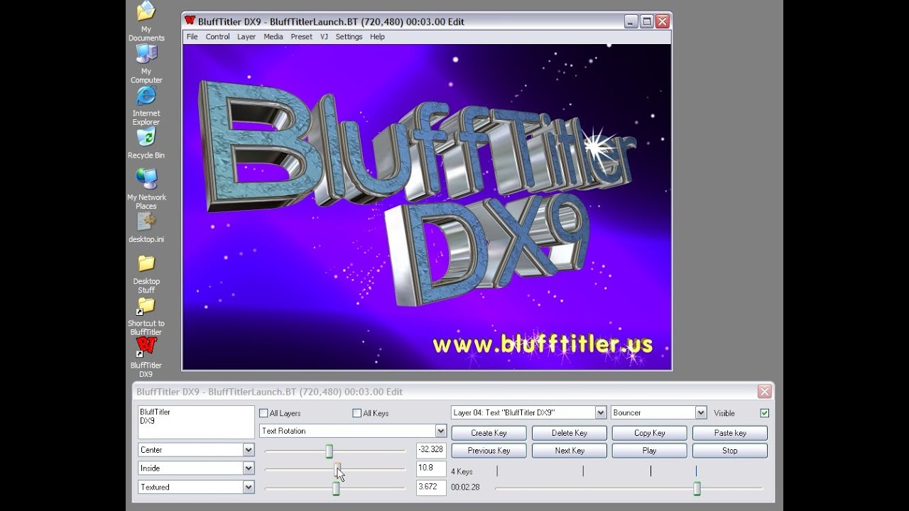 blufftitler dx9 gratuit