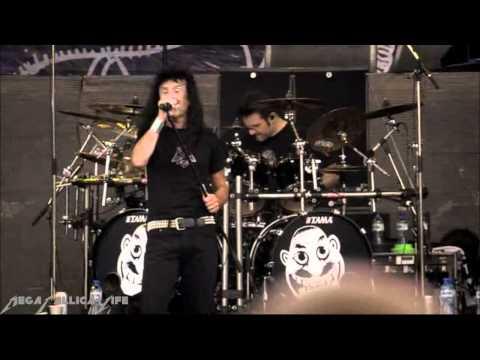 Anthrax - Medusa Live Sofia - Big Four Concert) HD