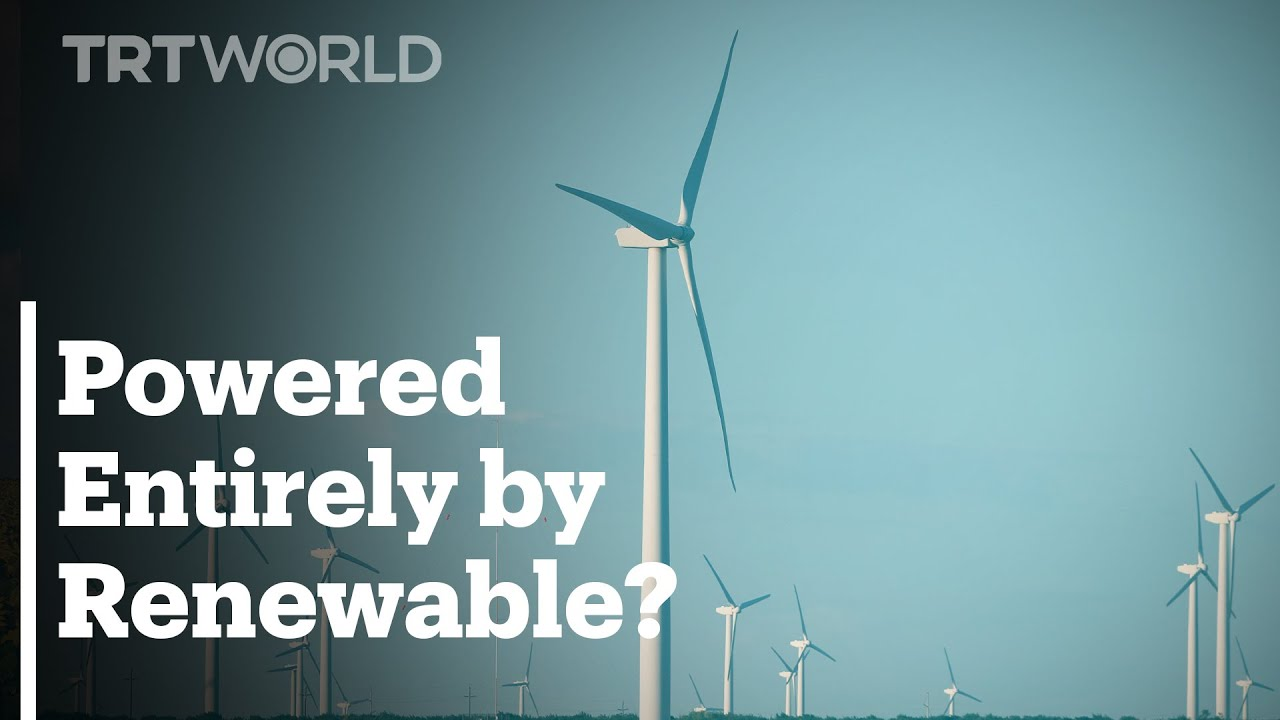 Countries that are almost entirely powered by Renewable Energy