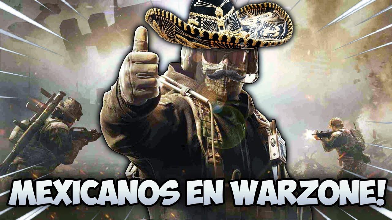 MEXICANOS EN WARZONE Y CON MEMES! 🤠