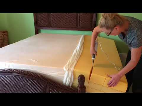 I Cut My King Size Bed Mattress Down To A Queen - Tempur-Pedic