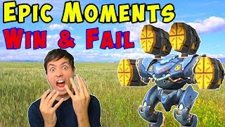 War Robots Epic Win & Fail Gameplay Moments WR
