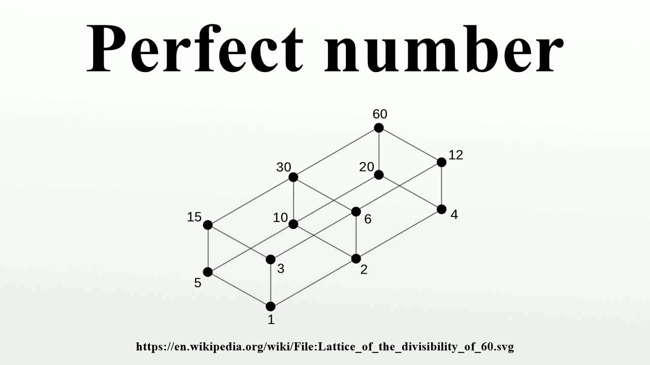 Perfect number - YouTube