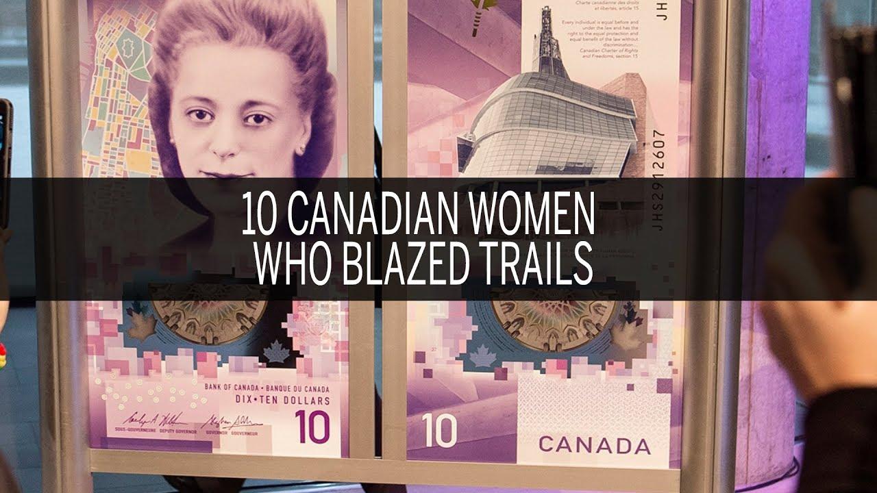 10 Canadian women who blazed trails