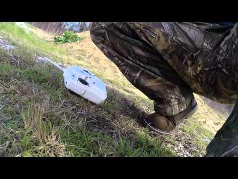 Aerosky x350 2nd flight and crash