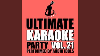 Dancing on the Ceiling (Originally Performed by Lionel Richie) (Karaoke Version)