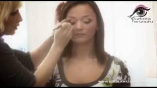 Makijaż kontrastowy wieczorowy - Część 2 [szkoła wizażu]