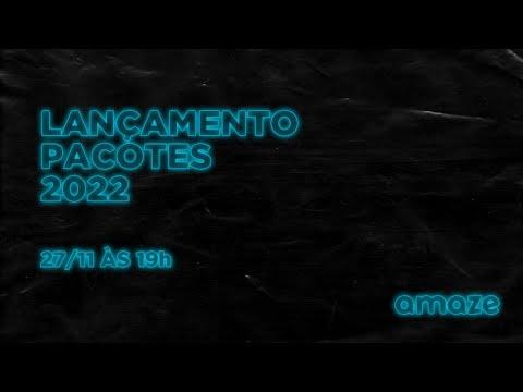 LANÇAMENTO PACOTES 2022 - Amaze Travel