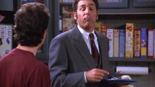 Seinfeld The Bizarro Jerry - Kramer gets a regular job