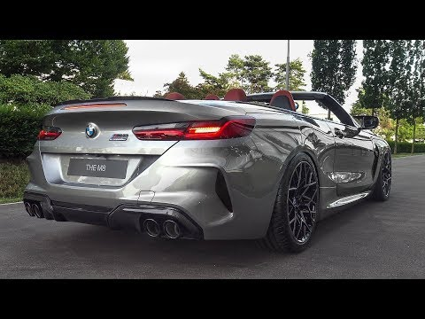The BRAND NEW BMW M8 COMPETITION Convertible - LOUD COLD START & LOVELY REVS!!!