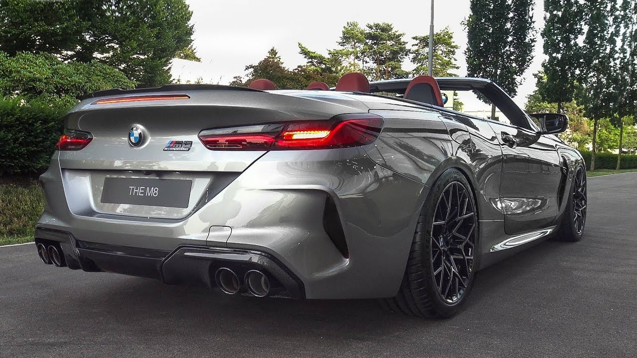 The Brand New Bmw M8 Competition Convertible Loud Cold Start Lovely Revs
