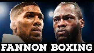 (WOW!!) JOSHUA TEAM RESPONDS TO WILDER ACCEPTING TERMS   NEW DEMAND COULD DUCK WILDER FOR A YEAR?