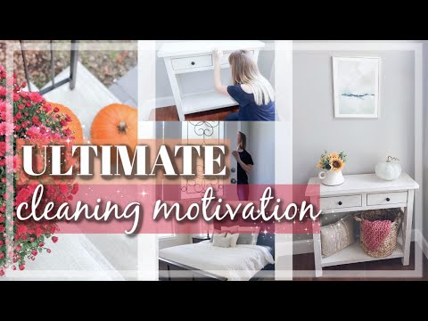 FALL CLEAN AND DECORATE WITH ME 2019 / MINIMALIST FALL DECOR IDEAS / ULTIMATE CLEANING MOTIVATION