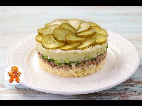 Салат с печенью трески и яйцомиз YouTube · Длительность: 57 с