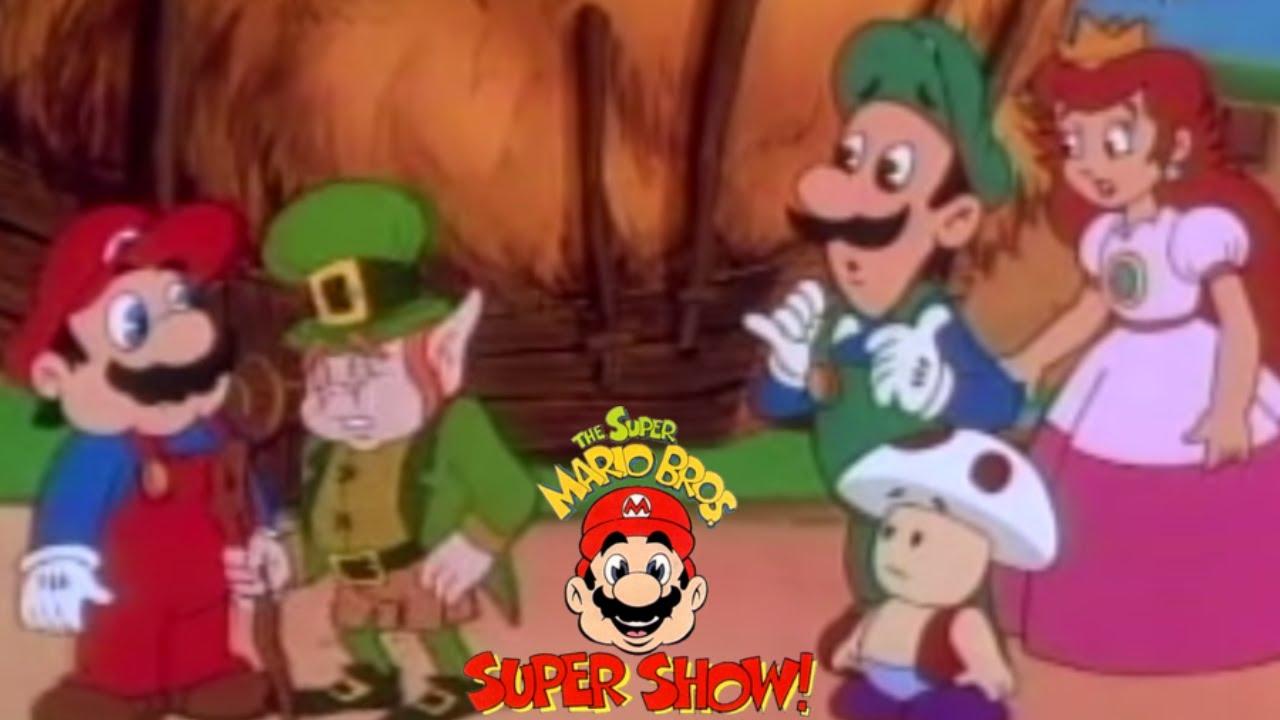 Super Mario Bros Super Show S1e29 Mighty Mcmario And The Pot