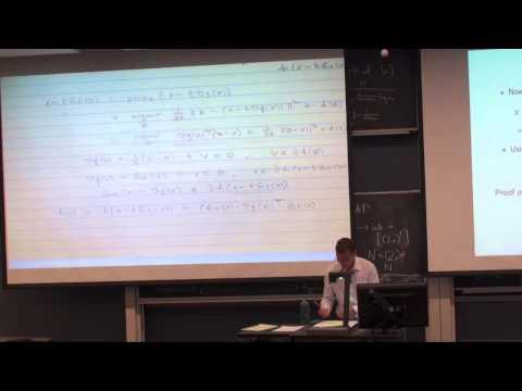 Lecture 8: Generalized gradient descent