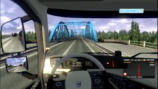 EURO TRUCK SIMULATOR 2 GAMEPLAY HEAVY WEIGHT MOD || OVER SIZED LOAD