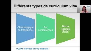 Conseils pour rédiger un bon curriculum vitae (2e partie)
