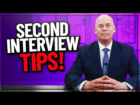 SECOND INTERVIEW TIPS! (2nd Interview Questions you MUST PREPARE FOR!)
