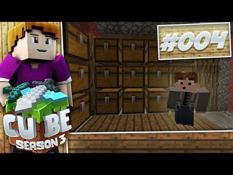 Minecraft [Cube  - S3]: Ep. 04 - NEW BOOK ROOM!