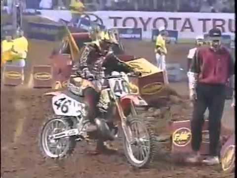 1998 AMA Supercross RD7 from Atlanta Georgia