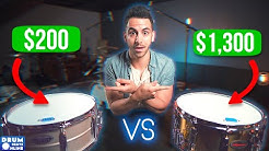 Beginner Snare VS Pro Snare: Can PRO Drummers Hear A Difference?