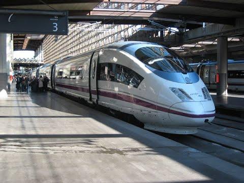 1st Class High Speed Rail- 🇪🇸 Madrid To Barcelona  🇪🇸