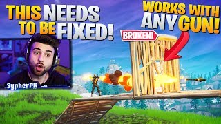 How To Shoot Through Walls Epic Needs To Fix This Fortnite Battle Royale