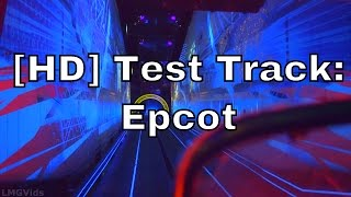 [HD] *Low Light Test Track Epcot front seat complete ridethrough 1080p 60fps