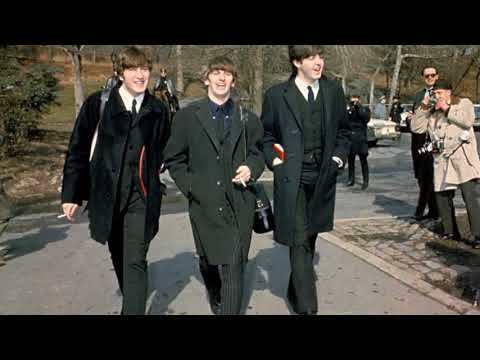 From me to you - The Beatles (LYRICS/LETRA) [Original]