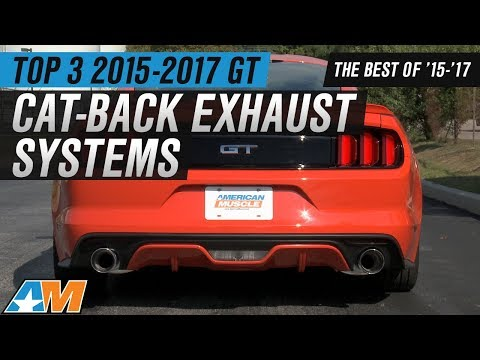 Best 2015-2017 Mustang GT Cat-Back Exhaust Systems Reviewed!