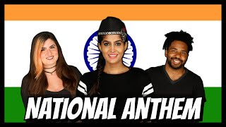Americans Sing the Indian National Anthem for the First Time | Rickshawali