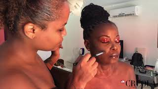 CREOLA - BACKSTAGE SHOOTING MAKE-UP (MAI 2019)