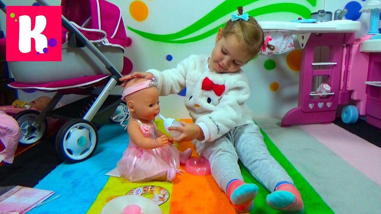 Baby Annabell Кукла с мимикой, 46 см - YouTube