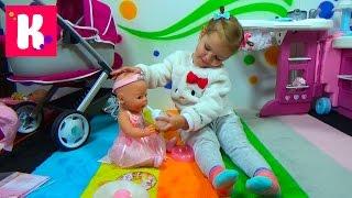 Беби Бoрн Кукла балерина с аксессуарами распаковка играем Baby Born ballerina doll play and unboxing
