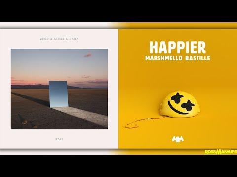 ''Stay Happier'' | MASHUP feat. Alessia Cara,Zedd,Marshmello & Bastille