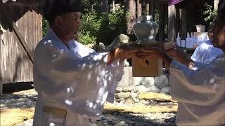 賀久留神社 本祭!儀式の記録