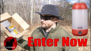3 Will Win - Enter Now - Fenix CL26R Lantern - Giveaway
